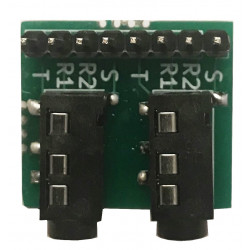 """DUAL 3.5mm TRRS to 0.100""""..."""